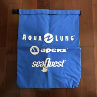 Aqua Lung - 防水バッグ  AQUA LUNG 水色 Lサイズ マリンバッグ
