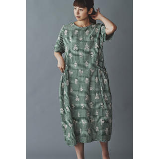 mina perhonen - 美品ミナペルホネン bonheur ランドリー 38サイズ