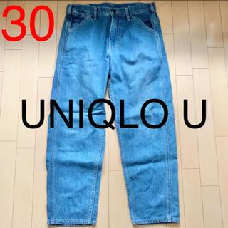 ユニクロ(UNIQLO)のUNIQLO U デニム ジーンズ パンツ ユニクロ インディゴ ユニクロユー(デニム/ジーンズ)