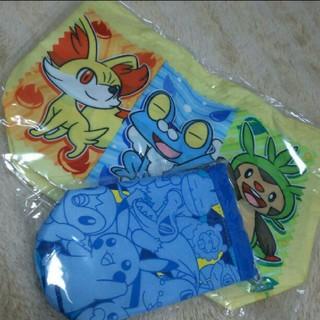 ポケモン(ポケモン)のポケットモンスターのランチ袋とペットボトルホルダー(ランチボックス巾着)