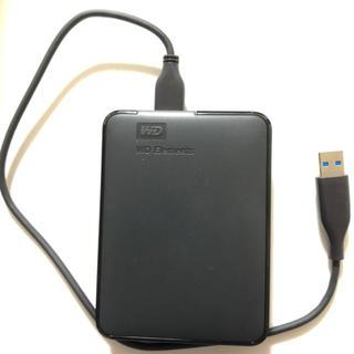 ポータブルHDD WD Elements Portable 2TB USB3.0