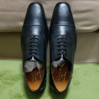オリヒカ(ORIHICA)の25cm【新品・未使用】ORIHICA オリヒカ 紳士靴 黒(ドレス/ビジネス)
