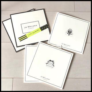ジョーマローン(Jo Malone)のジョーマローン ギフトカード 5枚 【購入時コメント不要です】(カード/レター/ラッピング)