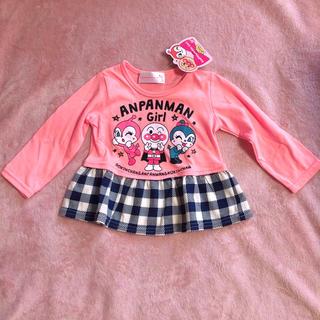 アンパンマン - 新品 80 アンパンマン ピンク トップス