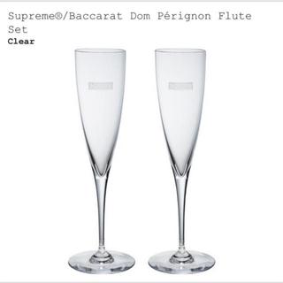 シュプリーム(Supreme)の新品 supreme baccarat シャンパングラス 2本セット バカラ(グラス/カップ)