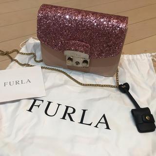 フルラ(Furla)のFURLA メトロポリス  ピンクグリッター (ショルダーバッグ)