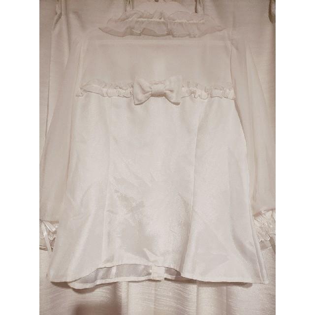 Angelic Pretty(アンジェリックプリティー)のAngelic pretty sugar airly 七分袖 ブラウス レディースのトップス(シャツ/ブラウス(長袖/七分))の商品写真