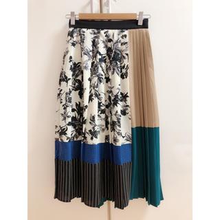 UNITED ARROWS - ユナイテッドトウキョウ ブロックプリーツスカート