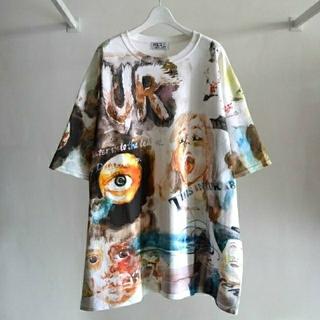 juvenile hall rollcall - 特価 HIRO 12SS KIDILL 19SS 毛皮のエロスビッグTシャツ