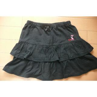 ダブルビー(DOUBLE.B)のmikihouseミキハウス フリルスカート120(スカート)