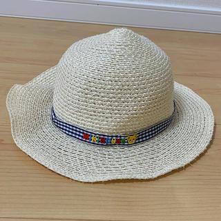 mikihouse - ミキハウス 麦わら帽子