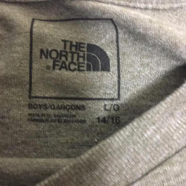 THE NORTH FACE(ザノースフェイス)の【新品】ザノースフェイス♡クライミングロゴ半袖TシャツボーイズL160150 キッズ/ベビー/マタニティのキッズ服男の子用(90cm~)(Tシャツ/カットソー)の商品写真
