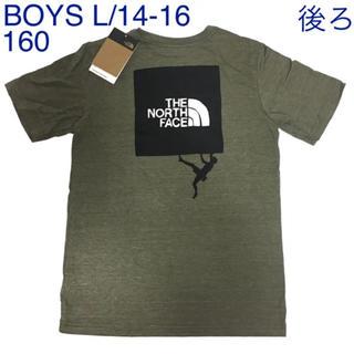 THE NORTH FACE - 【新品】ザノースフェイス♡クライミングロゴ半袖TシャツボーイズL160150