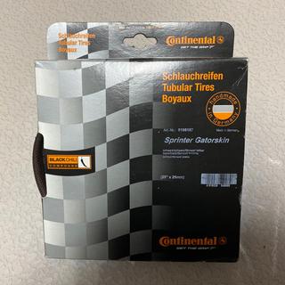 新品 コンチネンタル スプリンター ゲータスキン チューブラー 28×25c