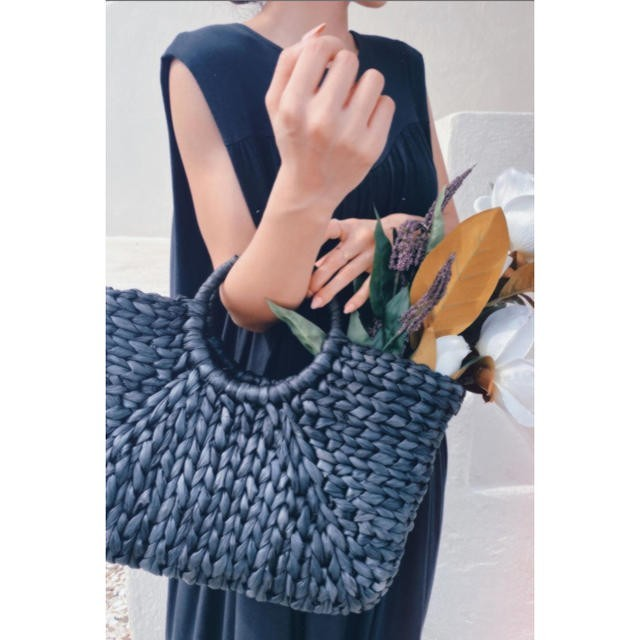 eimy istoire(エイミーイストワール)のエイミーイストワール ノベルティ カゴバッグ レディースのバッグ(かごバッグ/ストローバッグ)の商品写真