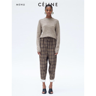celine - 2017aw  celine セリーヌ チェックパンツ フィービーデザイン