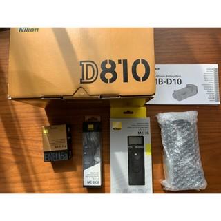 Nikon - Nikon D810, MB-D12,  その他