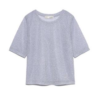 リリーブラウン(Lily Brown)のラメカットトップス(Tシャツ(半袖/袖なし))