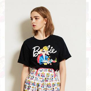 リリーブラウン(Lily Brown)のバービー コラボTシャツ(Tシャツ(半袖/袖なし))