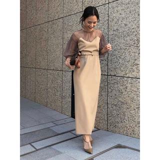 Ameri VINTAGE - M 新品 完売品 AMERI AIRY SLEEVE TIGHT DRESS