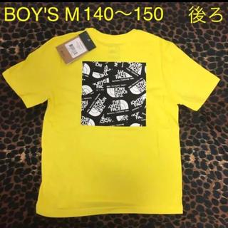 THE NORTH FACE - 【新品】ザノースフェイス♡ロゴ半袖TシャツM140150イエローキッズボーイズ