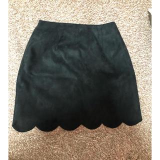 ロジータ(ROJITA)のROJITA 黒 ミニスカート coutureBY ROJITA(ミニスカート)