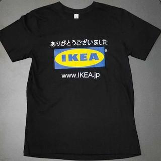 イケア(IKEA)の【USED】IKEA ロゴTシャツ   M サイズ(Tシャツ(半袖/袖なし))