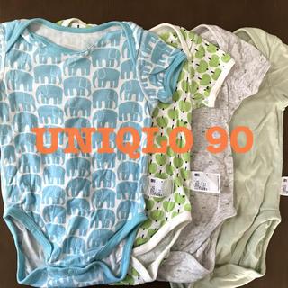 UNIQLO - 美品 UNIQLO 半袖 肌着90