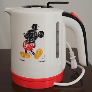 ディズニー(Disney)の[新品未使用] ディズニー ミッキー 電気ケトル 1.1L MM-206(電気ケトル)