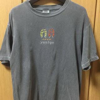 スピンズ(SPINNS)のTシャツ yonige 刺繍tシャツ(Tシャツ/カットソー(半袖/袖なし))