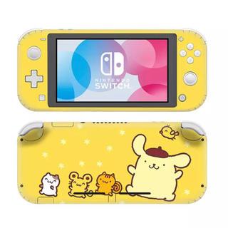 ニンテンドースイッチ(Nintendo Switch)の◎SALE◎ポムポムプリン③ 任天堂SwitchLite 保護スキンシール(その他)