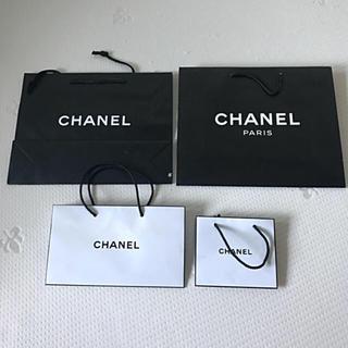 シャネル(CHANEL)のシャネル ショッパー 紙袋 4枚セット(ショップ袋)