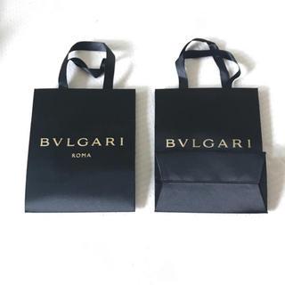 ブルガリ(BVLGARI)のブルガリ ショッパー 紙袋 2枚セット(ショップ袋)