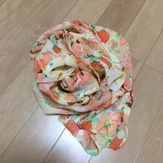レッセパッセ(LAISSE PASSE)のスカーフ 花柄(バンダナ/スカーフ)