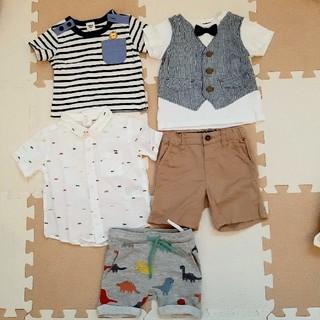H&M - 男の子 ベビー Tシャツ パンツ セット70