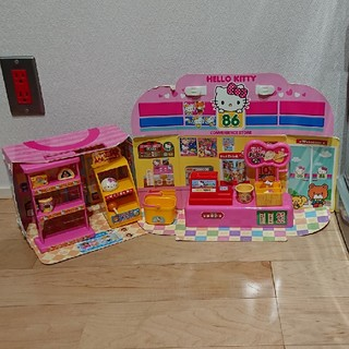 ハローキティ(ハローキティ)のハローキティ お買い物ごっこ  お店(知育玩具)
