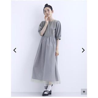 メルロー(merlot)のドレス ワンピース(ミディアムドレス)