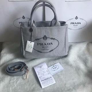 PRADA - プラダ prada カナパ 2way ショルダーバック  サイズ 28-20-1