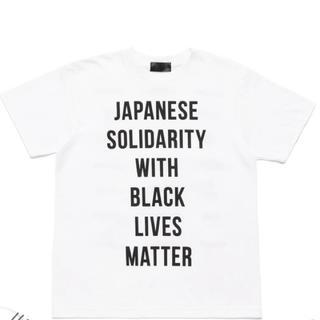 アベイシングエイプ(A BATHING APE)の(サイズL) JAPANESE SOLIDARITY Tシャツ(Tシャツ/カットソー(半袖/袖なし))