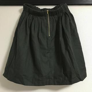 RETRO GIRL - レトロガール ミニスカート グリーン Mサイズ