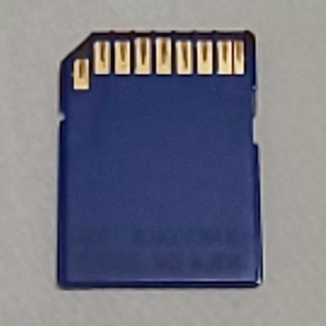 Panasonic(パナソニック)のパナソニック純正 SDメモリーカード 128MB Panasonic SDカード スマホ/家電/カメラのPC/タブレット(PC周辺機器)の商品写真