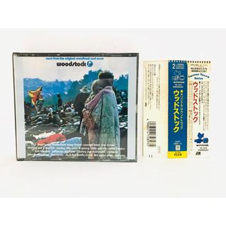 【廃盤】映画『ウッドストック』サントラCD/2枚組/希少盤/Woodstock(映画音楽)