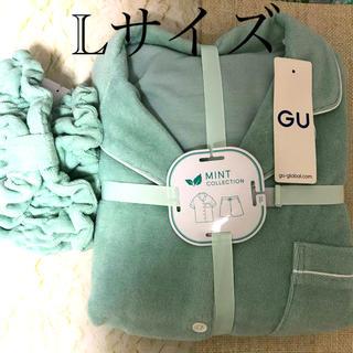 GU - GU サボン ミント パジャマ ヘアバンド セット 新品