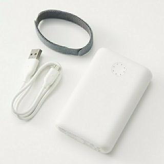ムジルシリョウヒン(MUJI (無印良品))の無印良品 USB用モバイルバッテリーMJ-MB1(バッテリー/充電器)