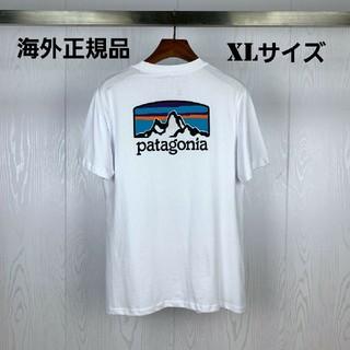 patagonia - 海外正規品 即日発送 patagonia 半袖Tシャツ ホワイト XLサイズ