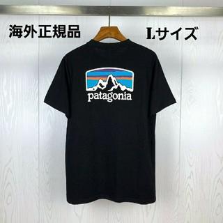 patagonia - 海外正規品 即日発送 patagonia 半袖Tシャツ ブラック Lサイズ