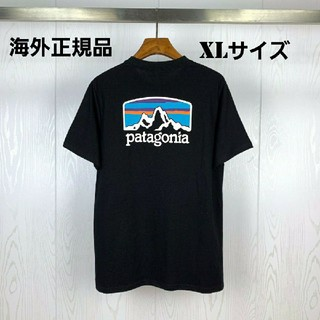 patagonia - 海外正規品 即日発送 patagonia 半袖Tシャツ ブラック XLサイズ