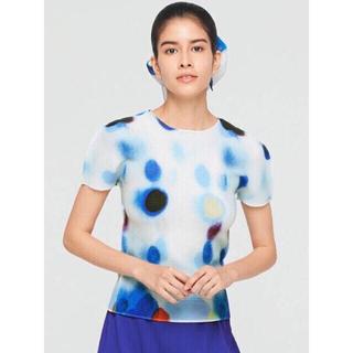 イッセイミヤケ(ISSEY MIYAKE)の✴︎今季完売品 me ISSEY MIYAKE イッセイミヤケ プリントTシャツ(Tシャツ(半袖/袖なし))