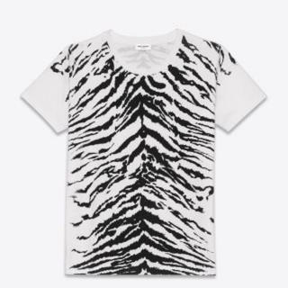 Saint Laurent - エディ期 14ss saint laurent paris ゼブラ Tシャツ