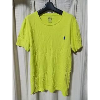 POLO RALPH LAUREN - POLO RALPHLAUREN ロゴ Tシャツ Sサイズ 黄色 ラルフローレン